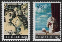 Belgium SG2178-2179 1970 Solidarity set 2v complete unmounted mint